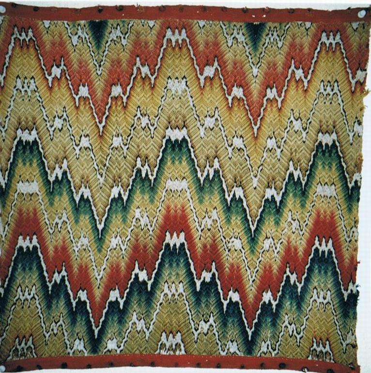 Italian textile 17th century, The Antique Rug & Textile Show 2009 in San Francisco