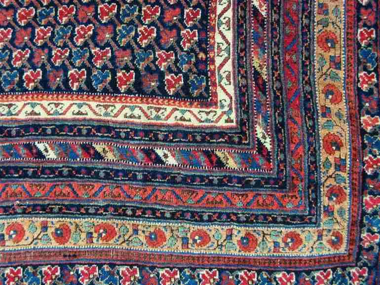 Afshar Rug (detail), The Antique Rug & Textile Show 2009 in San Francisco