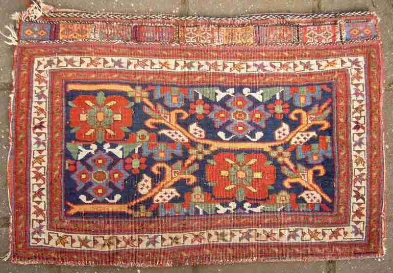 Afshar bag, 19thc, The Antique Rug & Textile Show 2009 in San Francisco