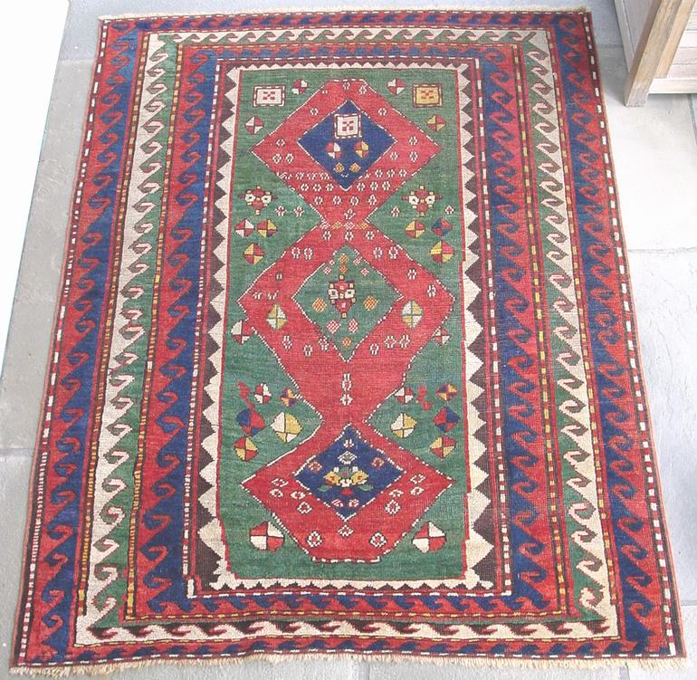 Kazak Village rug, 19th C